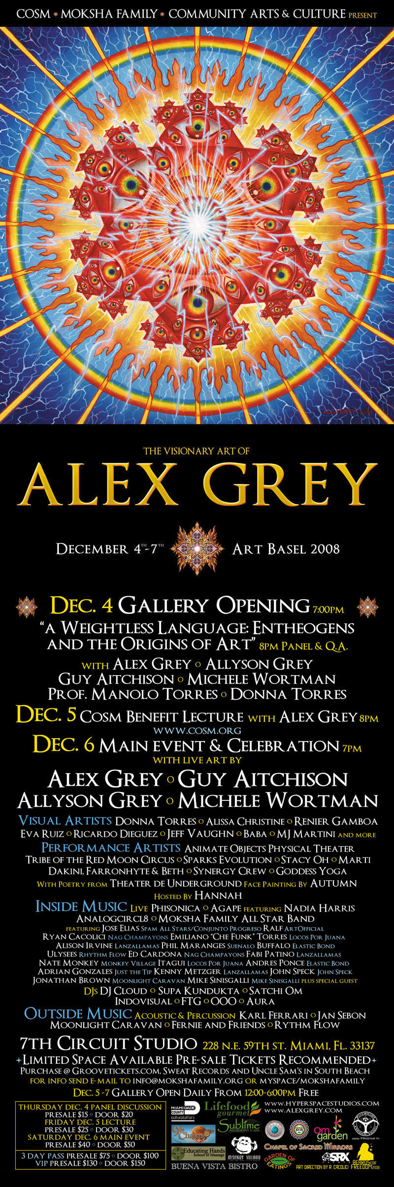 Moksha Art Fair 2008 - Featuring Aley Grey