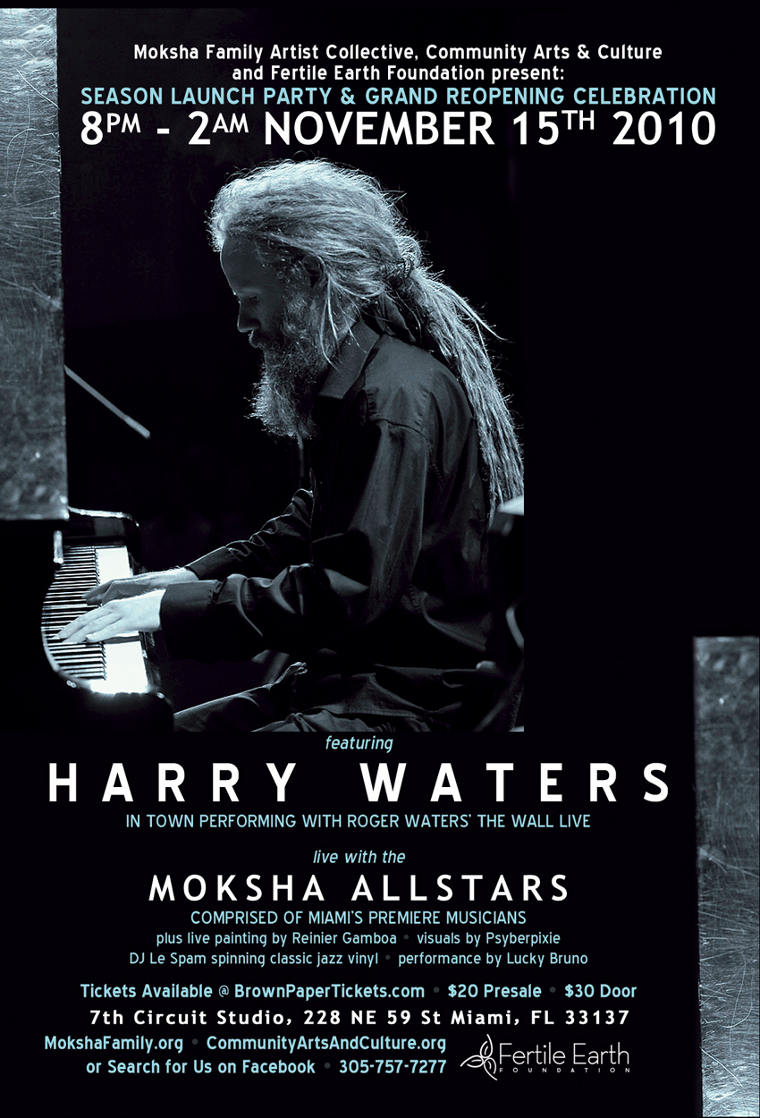 A Special Evening with Harry Waters – November 15, 2010