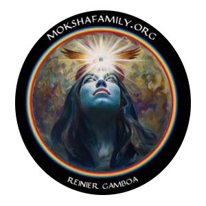 Gamboa Moksha Symbol Sticker