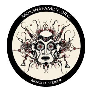 Steiner Moksha Symbol Sticker